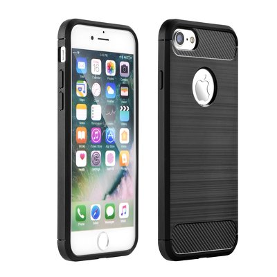 HUAWEI MATE 20 LITE  FORCELL CARBON  CASE SCHWARZ COVER BUMPER ETUI
