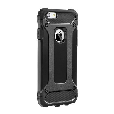HUAWEI MATE 20 LITE  FORCELL ARMOR CASE BLACK COVER BUMPER ETUI