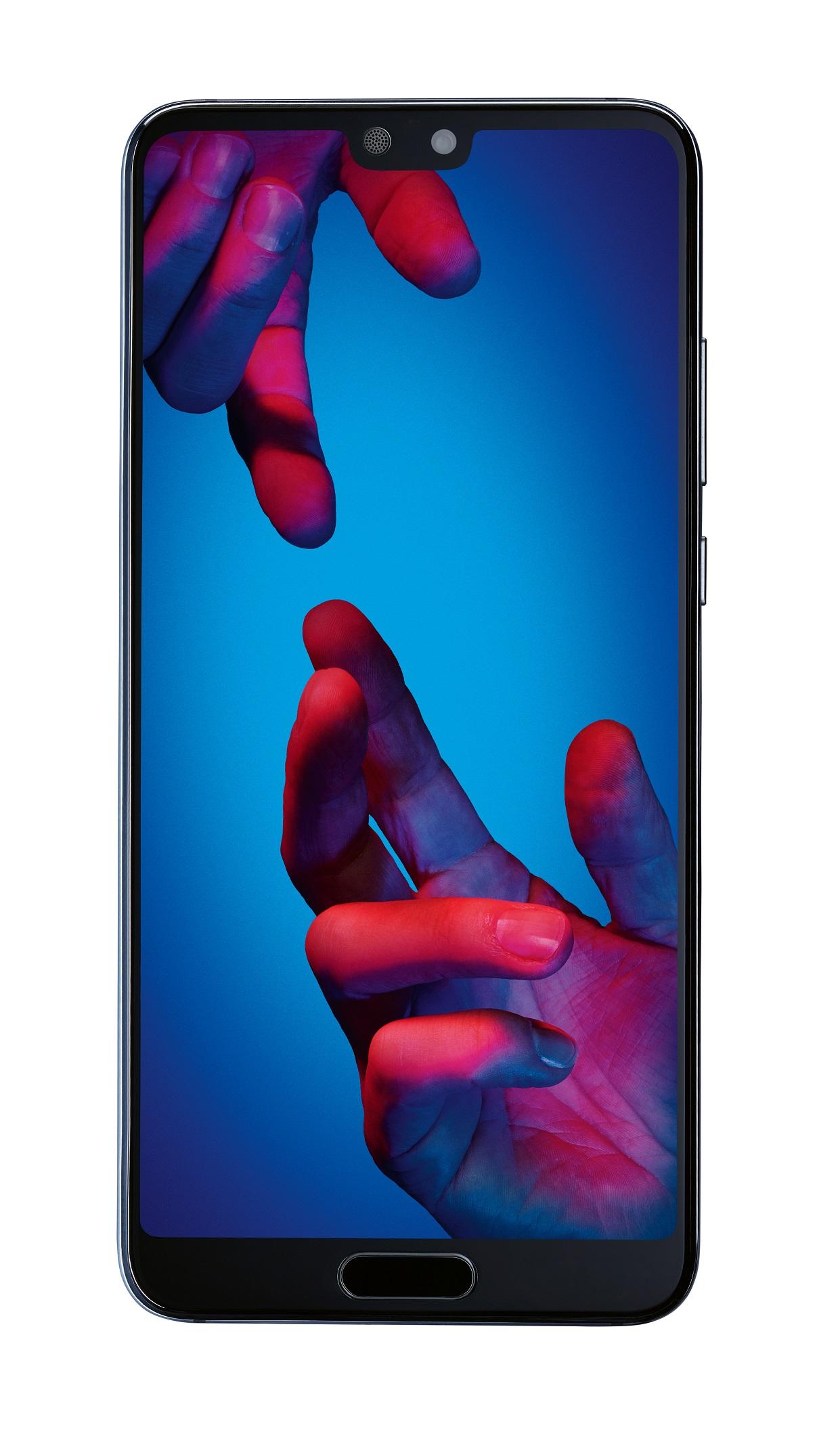 Huawei P20 Blau 128GB NFC 14,7 cm (5,8 Zoll) USB-C 20 MP Android 8.1 BRANDNEU