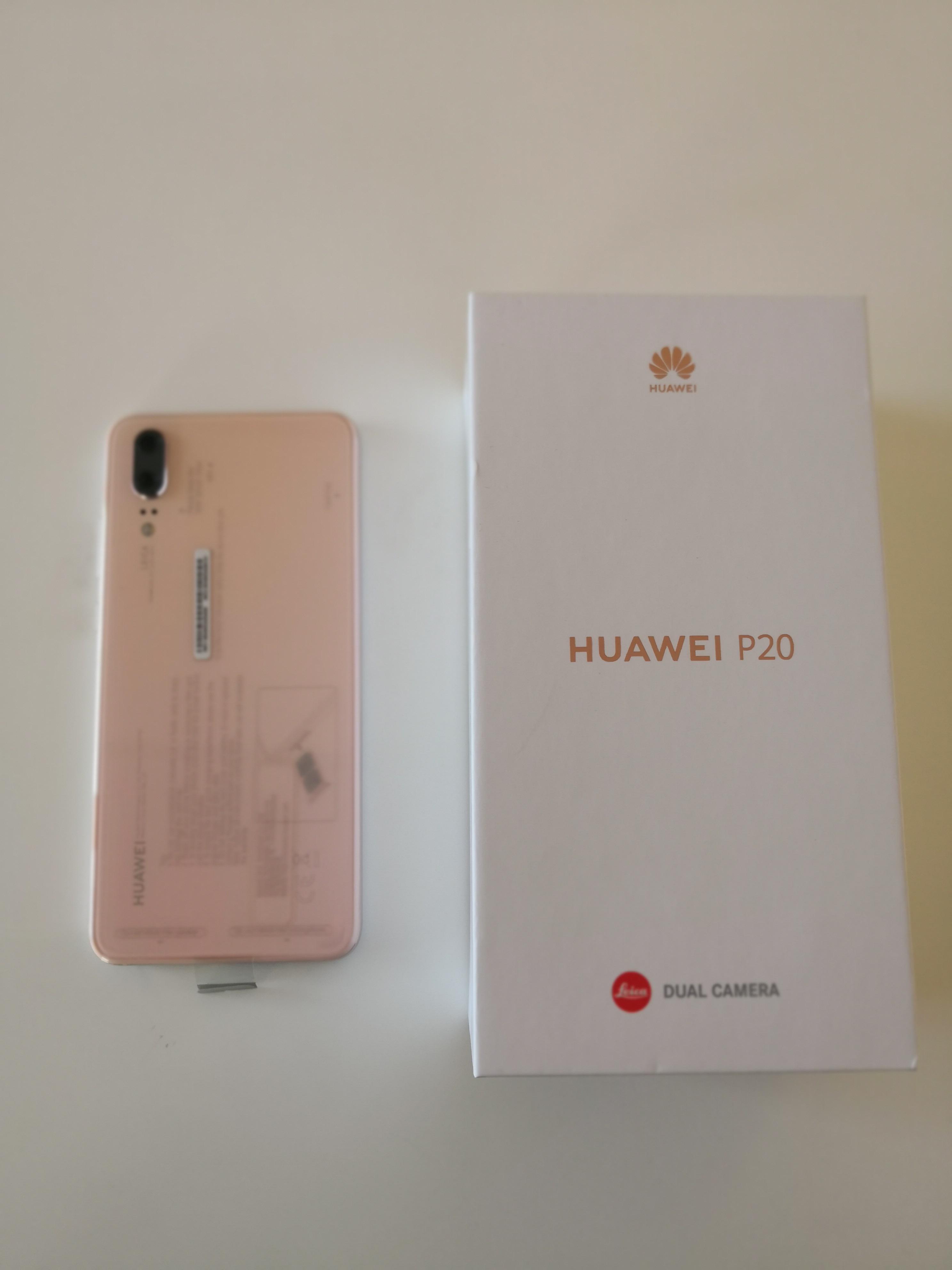 Huawei P20 Pink 128GB NFC 14,7 cm (5,8 Zoll) USB-C 20 MP Android 8.1 BRANDNEU
