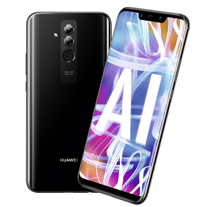 Huawei Mate 20 lite 64GB Grau Dual SIM 16 cm (6,3 Zoll) Android 8.1 BRANDNEU