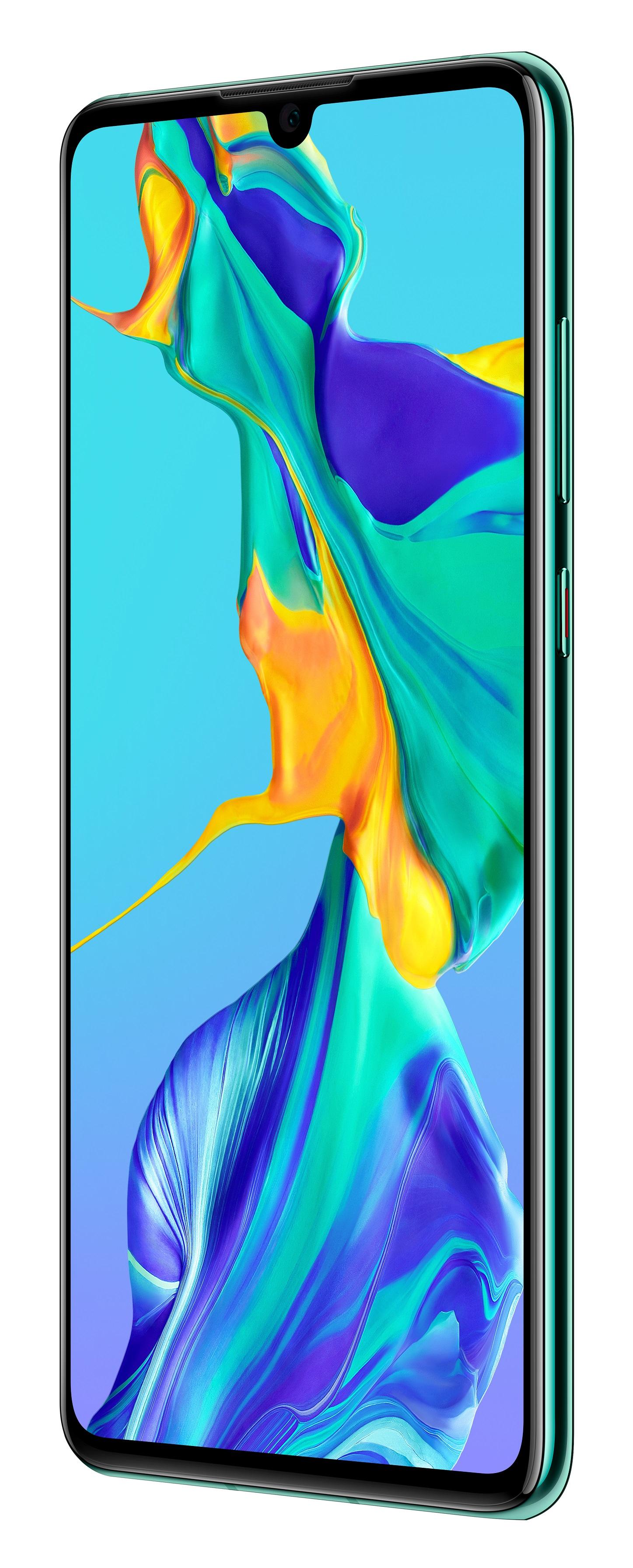 Huawei P30 twilight (Aurora) Telekom - Dual SIM, Android 9.0, OLED, BRANDNEU