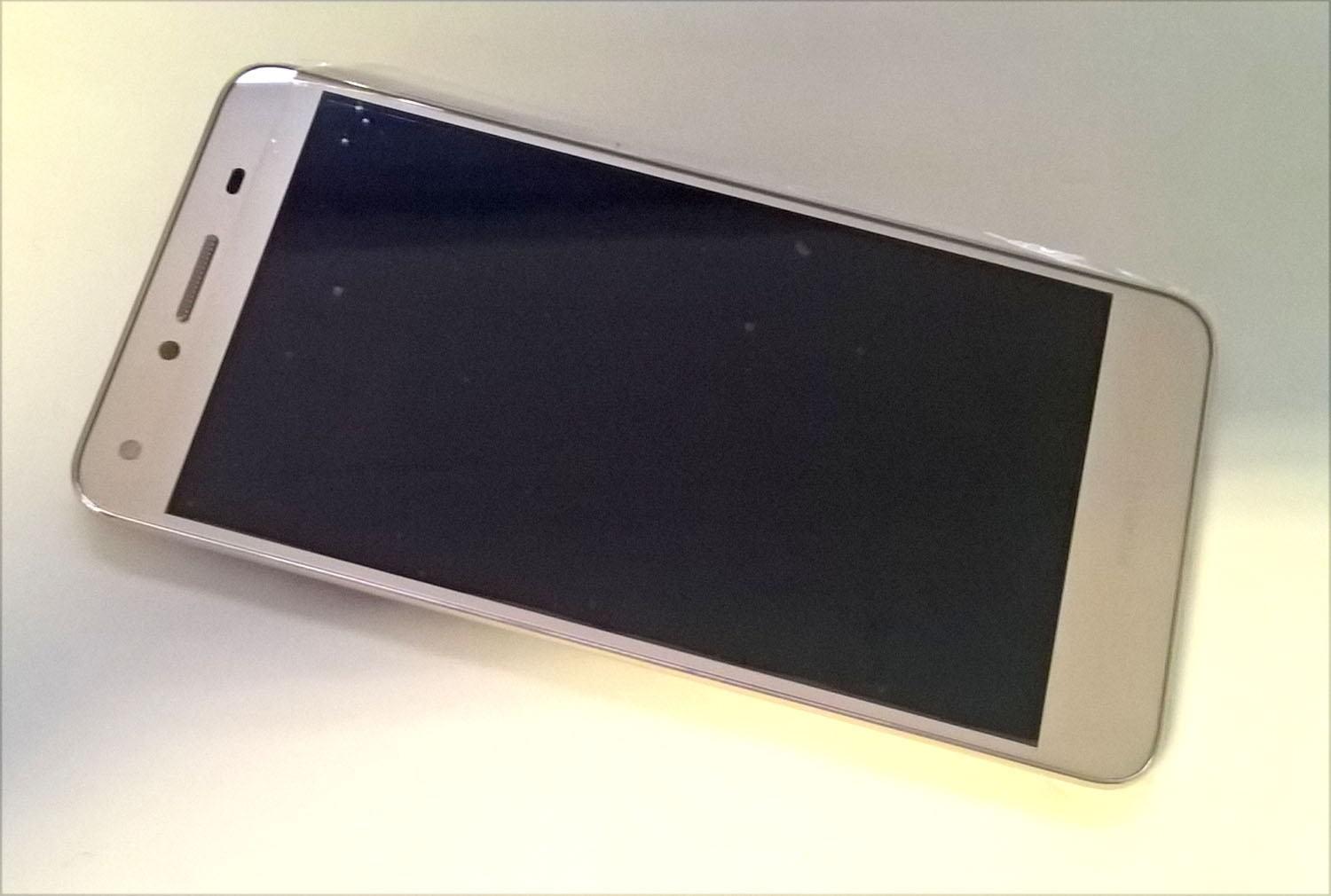 Huawei Y5 II Display A-Cover Frontrahmen+ LCD+Touch gold Ersatzteil