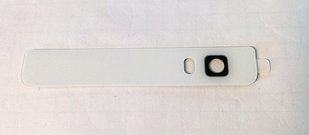 Huawei P8 lite Camera lens Kameralinse white weiß Ersatzteil