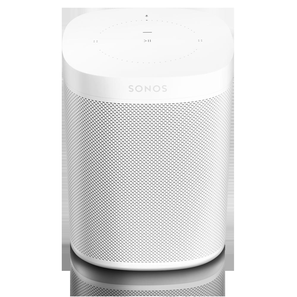 SONOS ONE Smart Speaker mit Sprachsteuerung Multiroom Streaming weiß NEU& OVP