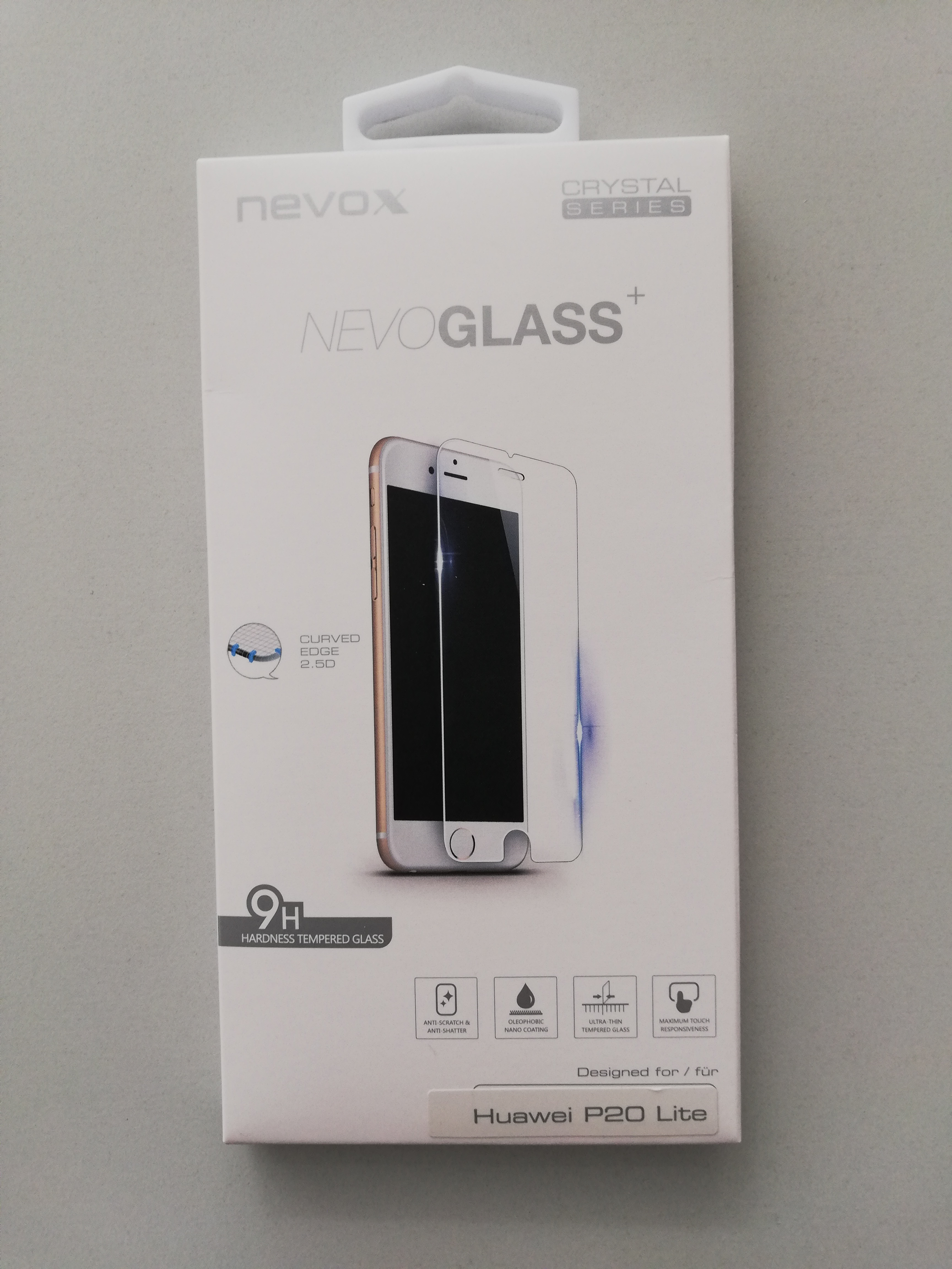 Nevoglass Huawei P20 Lite Tempered Glass